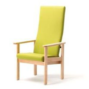 Chaise Avec Dossier Haut Accoudoirs Ergonomique