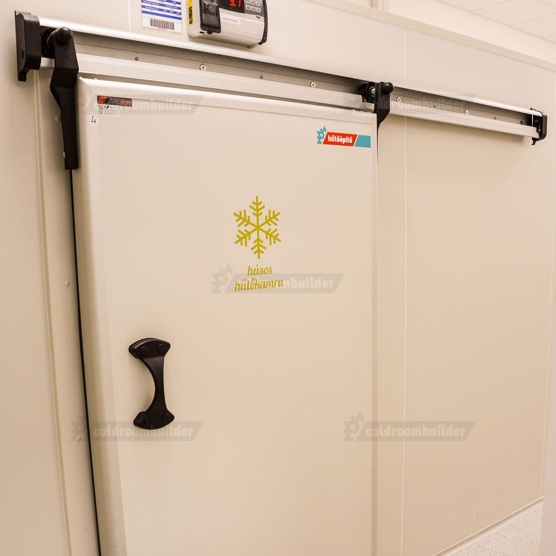 Porte coulissante / pour chambre froide de laboratoire - Coldroom ...