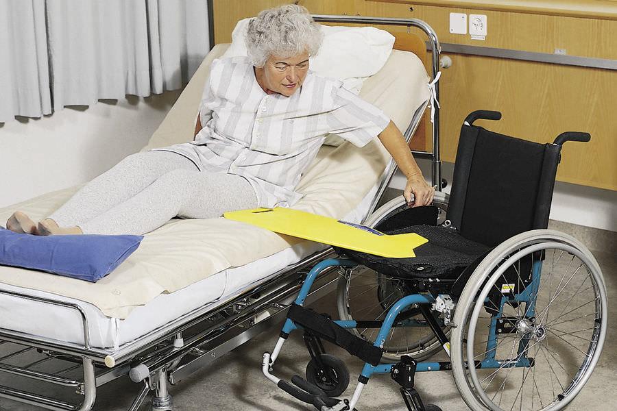 Planche de transfert pour fauteuil roulant