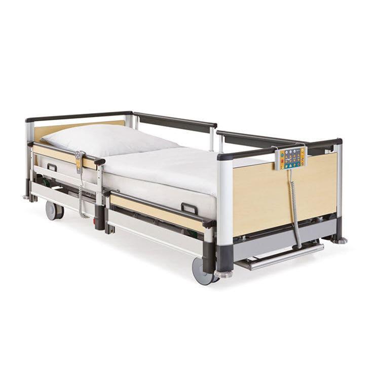 Lit De Long Sejour Medical Electrique Ultra Bas Image 3