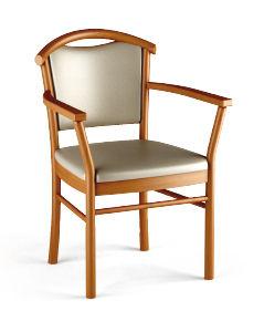 chaise avec accoudoirs - pcbr montarcher - ahf - ateliers du haut ... - Chaise Fauteuil Avec Accoudoir