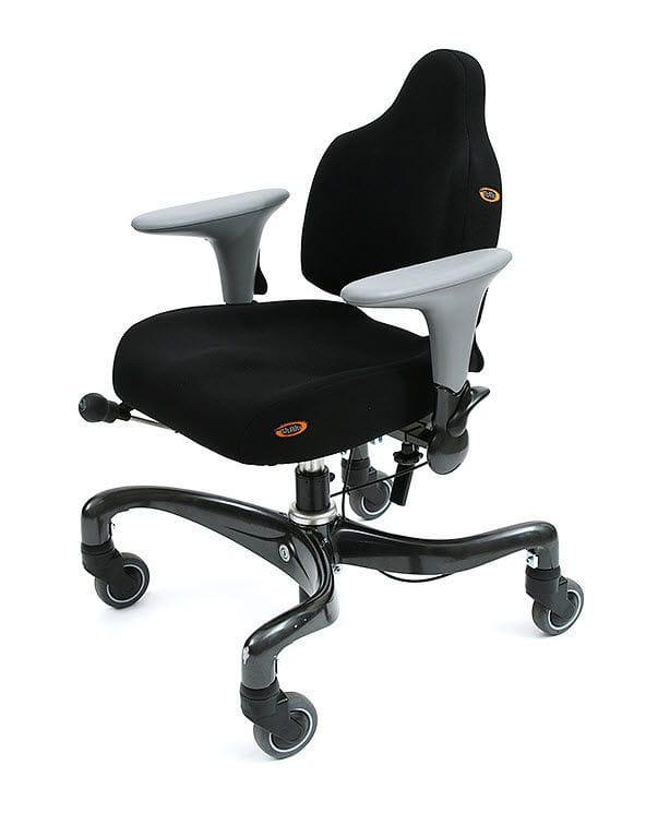 Chaise De Bureau Sur Roulettes Avec Accoudoirs A Hauteur Variable