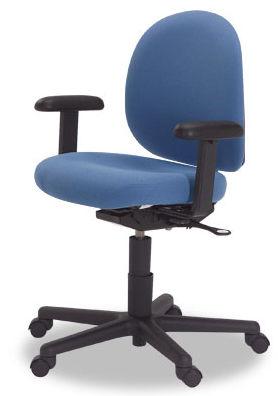 Chaise De Bureau Avec Accoudoirs Sur Roulettes