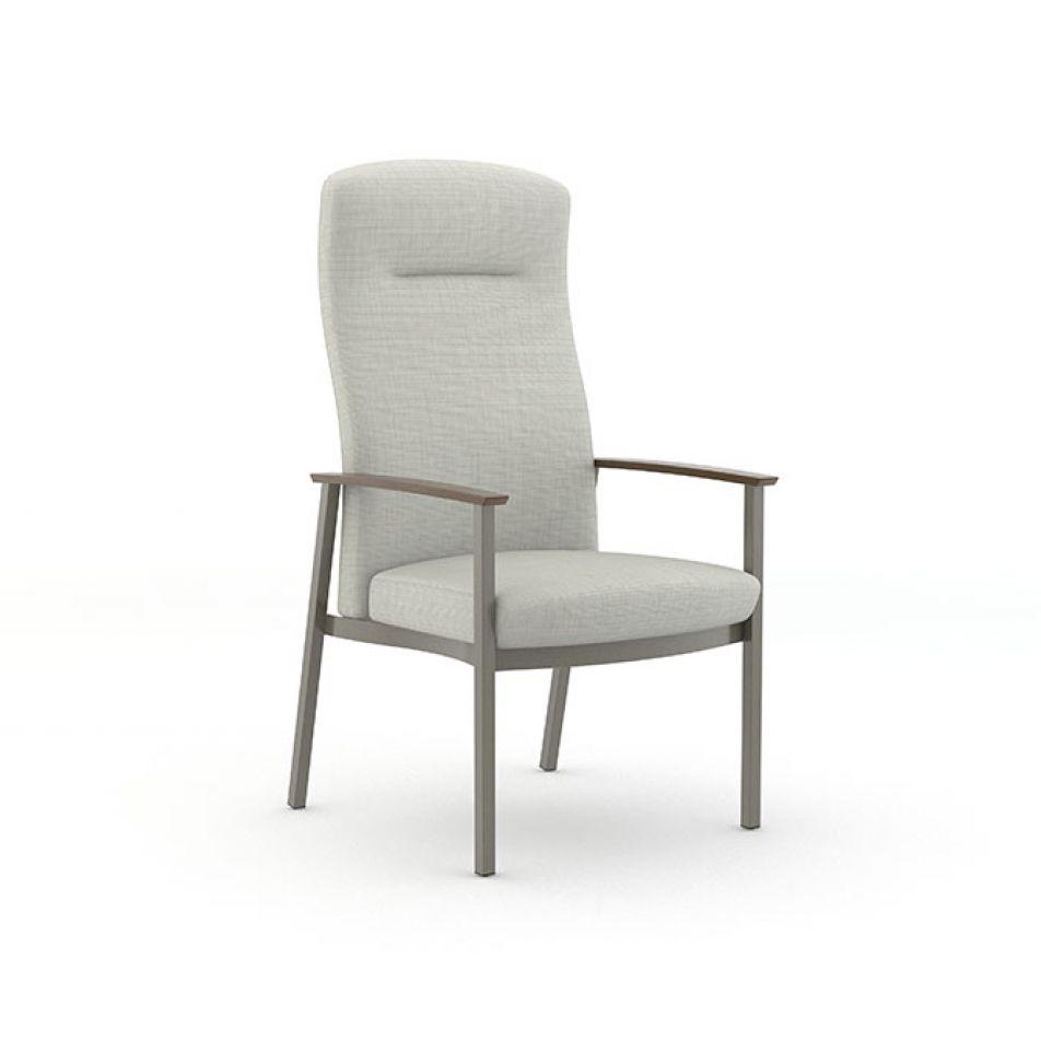 f73691ab1313f9 chaise pour salle d attente   de salle à manger   avec accoudoirs - Silvr  Ion Metal