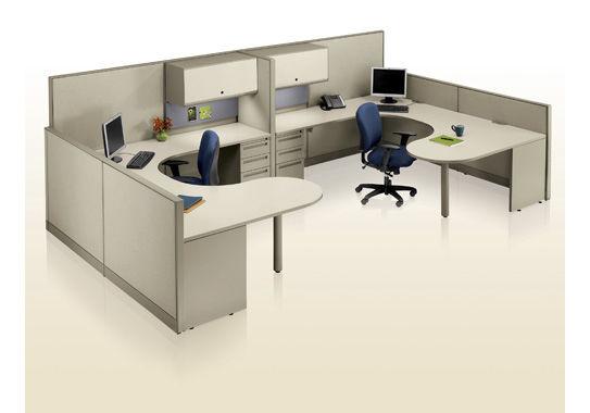 Bureau pour open space system ki