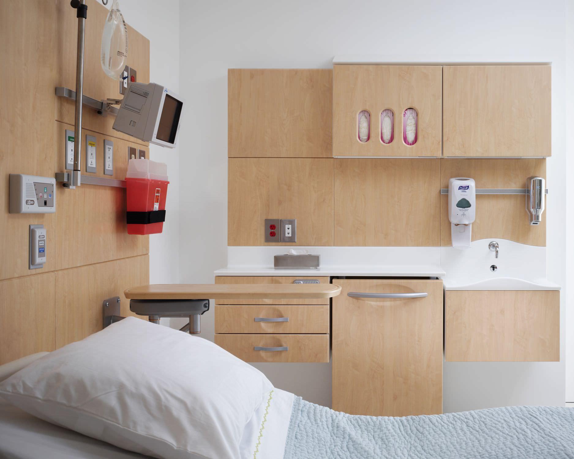 Armoire de rangement de chambre de patient modulaire pass