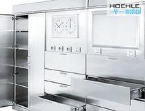Armoire modulaire / de stockage / de stérilisation / pour articles stériles