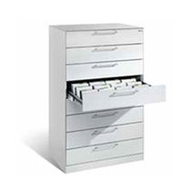 Armoire de stockage / à dossier médical / pour cabinet médical / avec tiroir