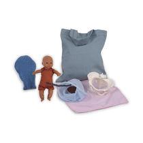 Modèle anatomique bassin / utérus / d'enseignement / de foetus