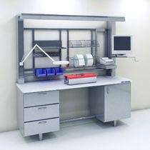 Station de travail de laboratoire modulaire / sur pied
