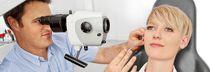Microscope de consultation / microscope de consultation ORL / sur roulettes