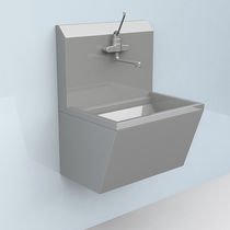 Lavabo chirurgical 1 station / en acier inoxydable