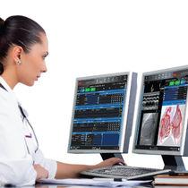 Logiciel de reporting / d'analyse / pour cardiologie