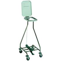 Chariot de transport / à linge sale / avec panier / 1 sac