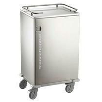 Chariot d'ancrage / pour salles d'opération / à linge propre / avec porte