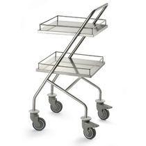 Chariot multifonction / avec étagère / 1 plateau