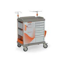 Chariot d'urgence / de transport / de stockage / avec tiroir