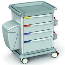 Chariot multifonction / de transport / avec tiroir / avec plateau