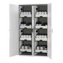 Armoire de stockage / de sécurité / pour liquide inflammable / pour acides