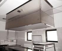 Système d'alimentation en air pour salles d'autopsie / avec éclairage