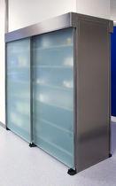 Armoire pour stockage d'échantillons / pour échantillons de laboratoire / de laboratoire / avec porte