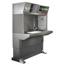 Station de travail de laboratoire de macroscopie / sur pied / avec évier