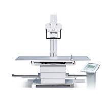 Table de radiographie à hauteur variable / avec bras porte-tube