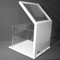 Écran de radioprotection rayons Beta / rayons Gamma / de table / avec fenêtre
