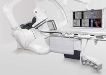 Système de fluoroscopie / numérique / pour fluoroscopie crânienne / avec amplificateur de brillance plafonnier