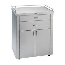 Armoire de stockage / d'hôpital / 2 portes / 2 tiroirs
