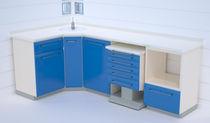 Armoire de rangement / pour instruments / pour cabinet dentaire / de salle d'opération