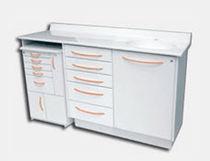 Armoire de rangement / pour instruments dentaires / pour cabinet dentaire / avec tiroir