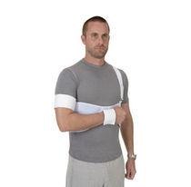 Attelle d'épaule / avec bande de maintien au corps