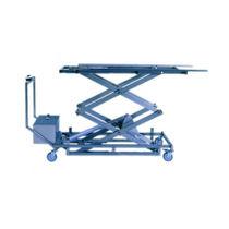 Chariot mortuaire / pour cercueils / élévateur / électro-hydraulique