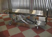 Chariot mortuaire / hydraulique / élévateur