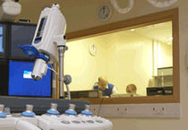 Fenêtre d'observation / de laboratoire / d'hôpital / de radioprotection