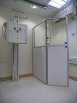 Écran de radioprotection rayons X / au sol / avec fenêtre