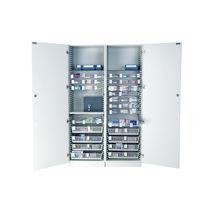 Armoire de stockage / à pharmacie / d'hôpital / 2 portes