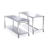 Table de travail / rectangulaire / fixe