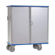 Armoire de stockage / à pharmacie / avec étagère / 2 portes