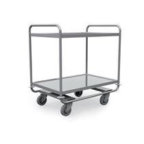 Chariot de soins / pour instruments / en acier inoxydable