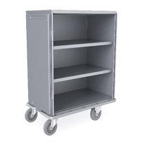 Armoire de stockage / pour articles stériles / avec porte / sur roulettes