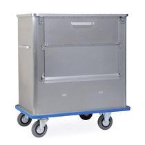 Chariot de chargement / de déchargement / poubelle / à grand compartiment