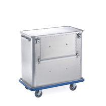 Chariot de chargement / de déchargement / poubelle / en aluminium