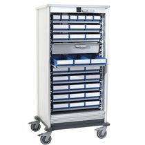 Armoire de stockage / pour produits chimiques / d'hôpital / avec étagère