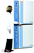 Incubateur de laboratoire à CO2 / de culture cellulaire / sur pied / double chambre
