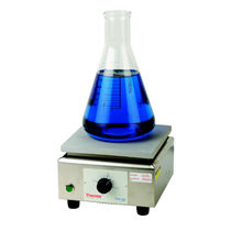 Plaque chauffante de laboratoire analogique