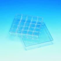 Boîte de Pétri carrée / avec grille de comptage