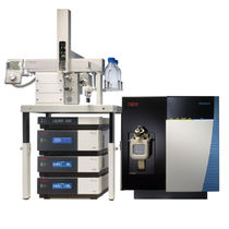 Système de chromatographie en phase liquide / pour analyse de l'eau / LC/MS / modulaire