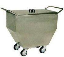 Chariot de transport / poubelle / en acier inoxydable